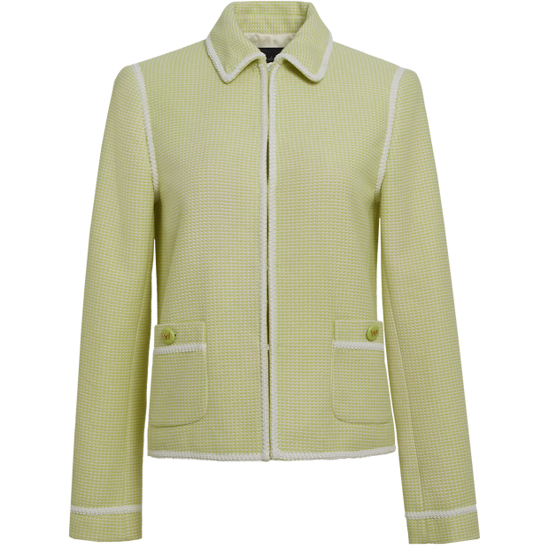 Key Lime White Mila Jacket Worth New York Worth Collection