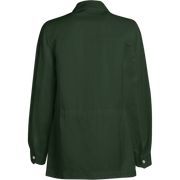 back of Cactus Green Ida Jacket Worth New York Worth Collection