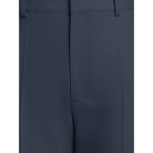 detail of Navy Raleigh Pant Worth New York Worth Collection