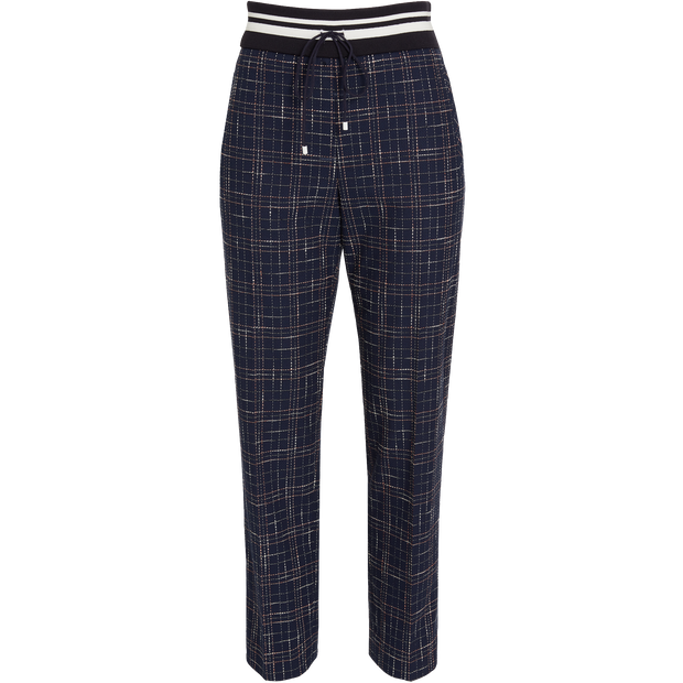 Navy Stretch Lillet Pant Worth New York Worth Collection
