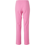 back of Peony Pink New York Pant Worth New York Worth Collection