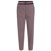 Navy Lavender Lillet Pant Worth New York Worth Collection