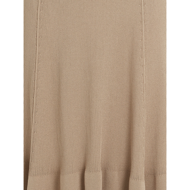 detail of Wheat Colton Skirt Worth New York Worth Collection