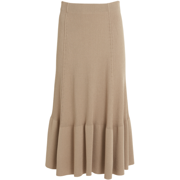 Wheat Colton Skirt Worth New York Worth Collection
