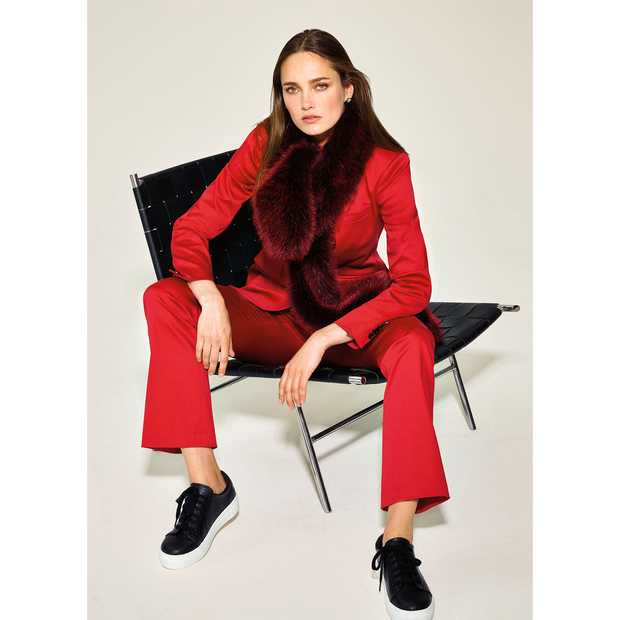 NO Midnight Faux Fur Stole Accessories Classics by Worth Worth Collection