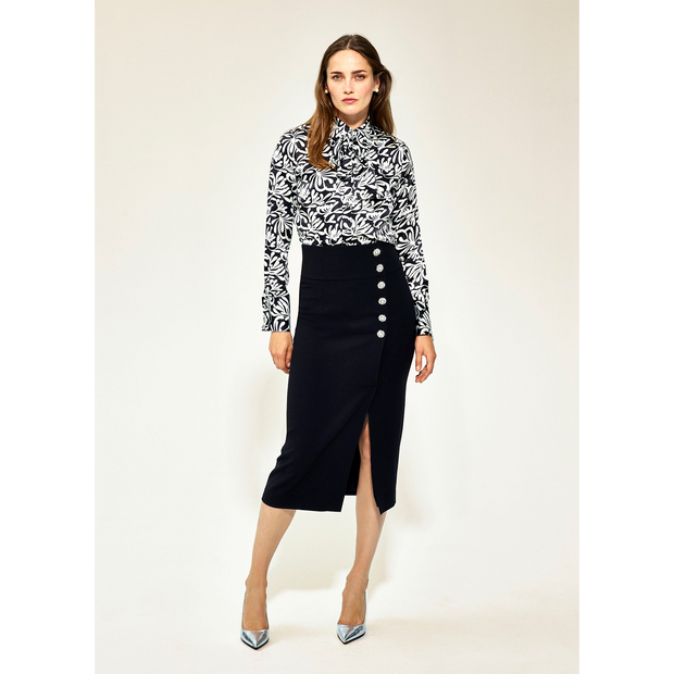 00 Midnight Elsie Skirts Worth New York Worth Collection