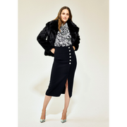 Worth New York Francoise Jacket ${description} $798.00 Available in: Size MD Color Black