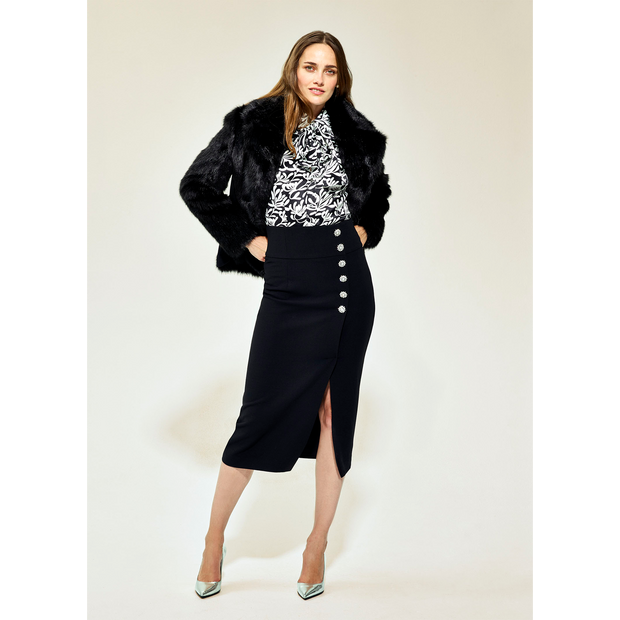 XS Midnight Francoise Jackets Worth New York Worth Collection