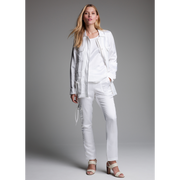 White Ida Jacket Worth New York Worth Collection on model