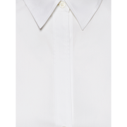 Detail of Optic White Catherine Blouse Classics By Worth Worth Collection