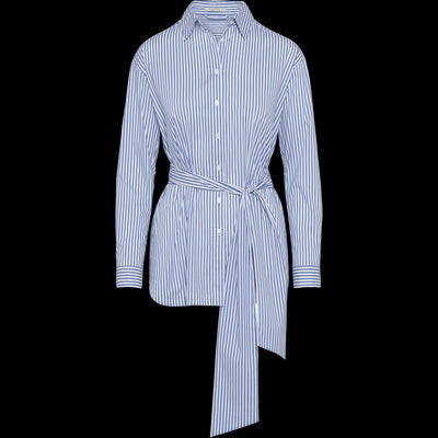 Blue Stripes XS Brit Blouse Blouses & Shirts Classics by Worth Worth Collection