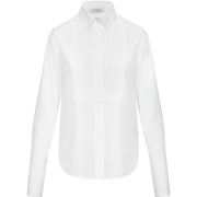 Classics by Worth Tara Blouse ${description} $149.00 Available in: Color Optic White Size XL