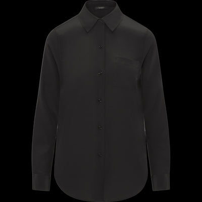 Midnight XS Silk Crepe de Chine Alexis Blouse Blouses & Shirts Classics by Worth Worth Collection