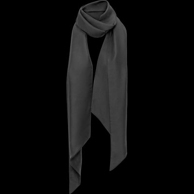 Midnight NO Satin Oblong Scarf Accessories Classics by Worth Worth Collection