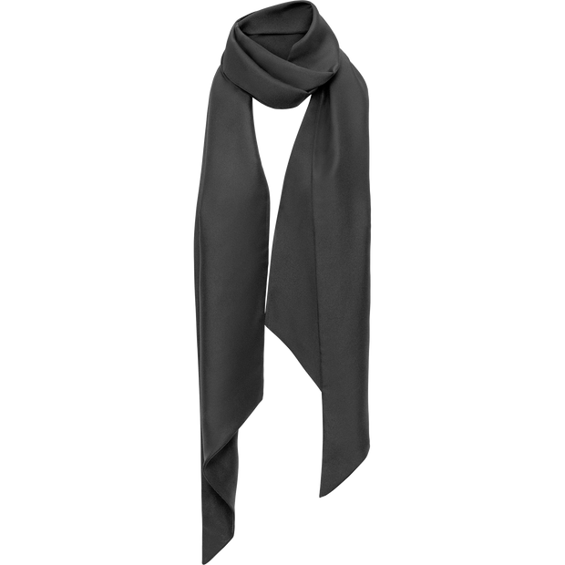 Classics by Worth Satin Oblong Scarf ${description} $198.00 Available in: Color Black Size NO