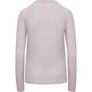 Classics by Worth Cashmere Jewel Neck Pullover ${description} $398.00 Available in: Color Soft Blue Size LG