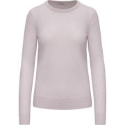 Flamingo XS Cashmere Jewel Neck Pullover Sweaters Classics by Worth Worth Collection