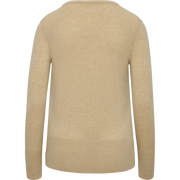 Cashmere V Neck Pullover-Sweaters-Classics by Worth-Camel-XS-Worth Collection
