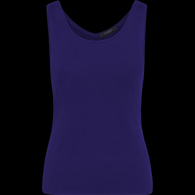 Grape XS Hannah Second Skin Tank Blouses & Shirts Classics by Worth Worth Collection