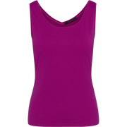 Fuchsia XS Hannah Second Skin Tank Blouses & Shirts Classics by Worth Worth Collection