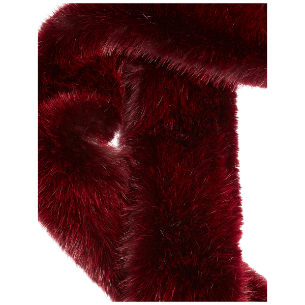 Classics by Worth Faux Fur Stole ${description} $199.00 Available in: Size NO Color Deep Burgundy