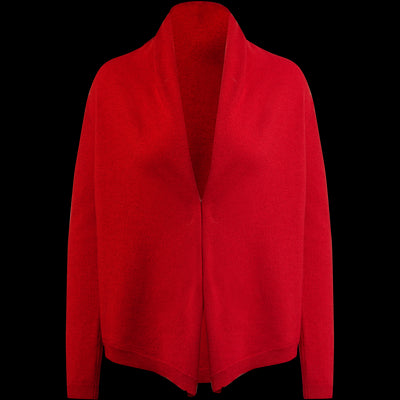 XS Candy Apple Cashmere Cardigan Sweaters Classics by Worth Worth Collection