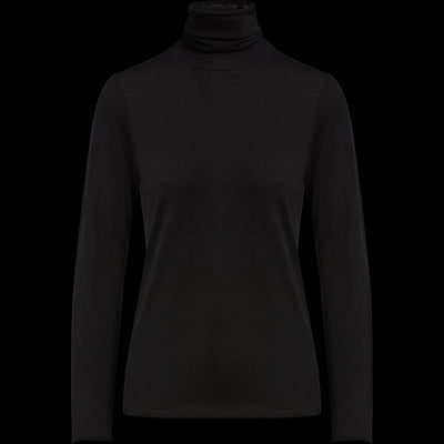 Midnight XS Wool Turtleneck Pullover Sweaters Classics by Worth Worth Collection