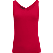 Red XS Hannah Second Skin Tank Blouses & Shirts Classics by Worth Worth Collection