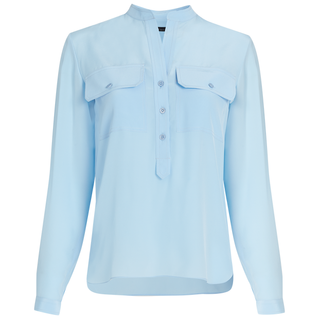 Classics by Worth Adair Blouse ${description} $358.00 Available in: Size XXS Color Sky Blue