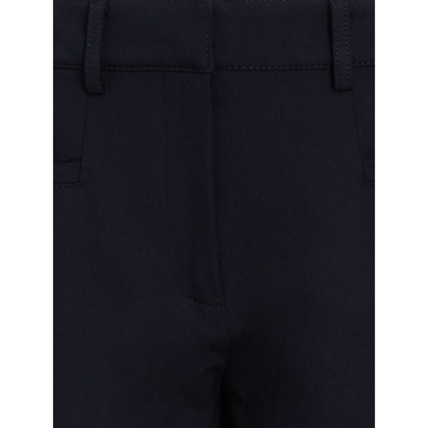 detail of Navy Phoenix Pant Classics By Worth Worth Collection