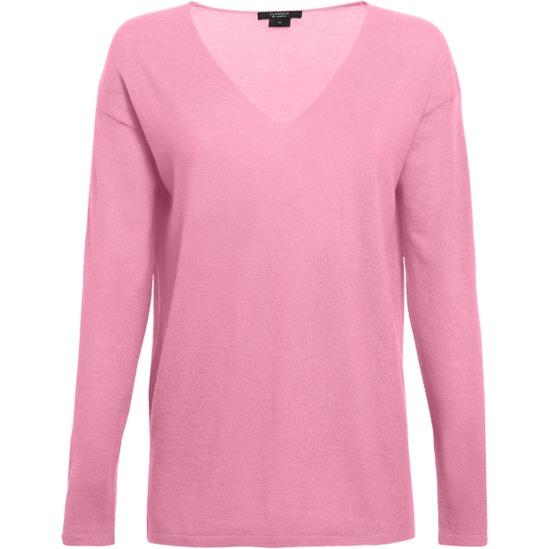 Classics by Worth Gemma Sweater ${description} $458.00 Available in: Size XXS Color Peony Pink
