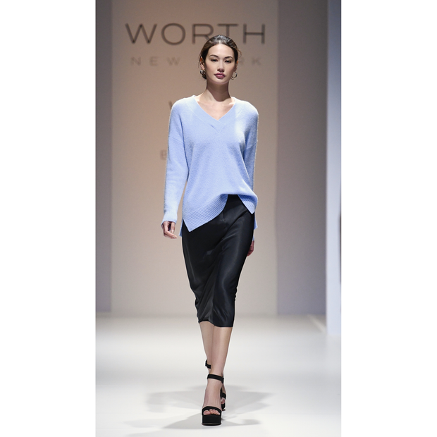 Midnight 00 Sylvie Skirt Skirts W by Worth Worth Collection
