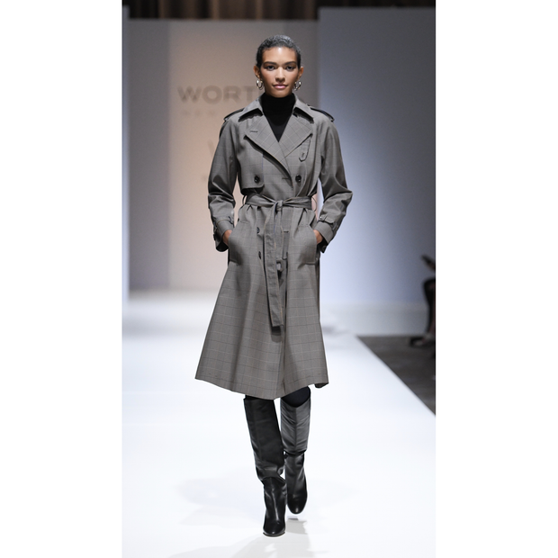 Worth New York Camilla Coat ${description} $748.00 Available in: Color Plaid Size XL