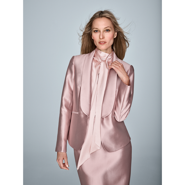 Worth New York Liz Blouse ${description} $358.00 Available in: Color Flamingo Size 06