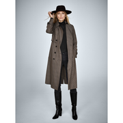 Camilla Coat-Coats-Worth New York-Plaid-XS-Worth Collection