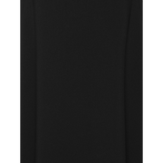 Black solid-suiting-paneled-sundress