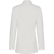 White vintage-cotton-blazer