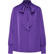 Grape XS Ileana Blouse Blouses & Shirts W by Worth Worth Collection