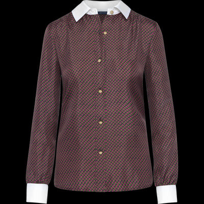 Harper Blouse-Blouses & Shirts-W by Worth-Groove-00-Worth Collection