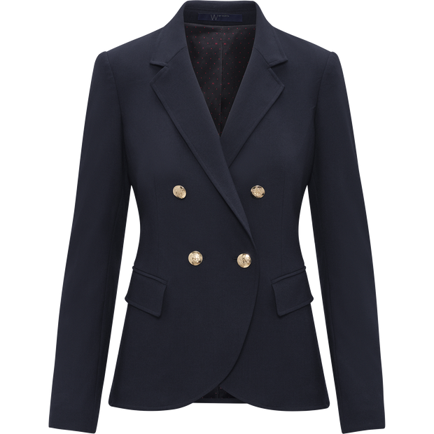 W by Worth Vanessa Jacket ${description} $428.00 Available in: Color Dark Navy Size 00