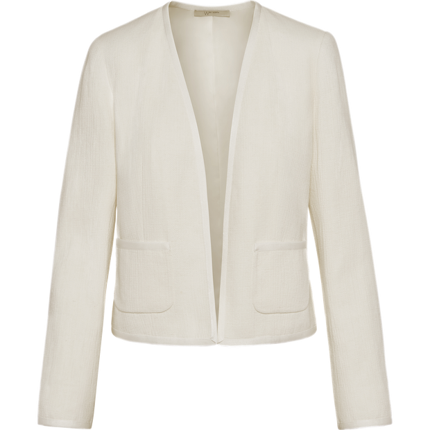 Ivory 00 Martine Jacket Jackets W by Worth Worth Collection