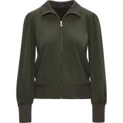 W by Worth Ramona Jacket ${description} $228.00 Available in: Color Military Green Size XS