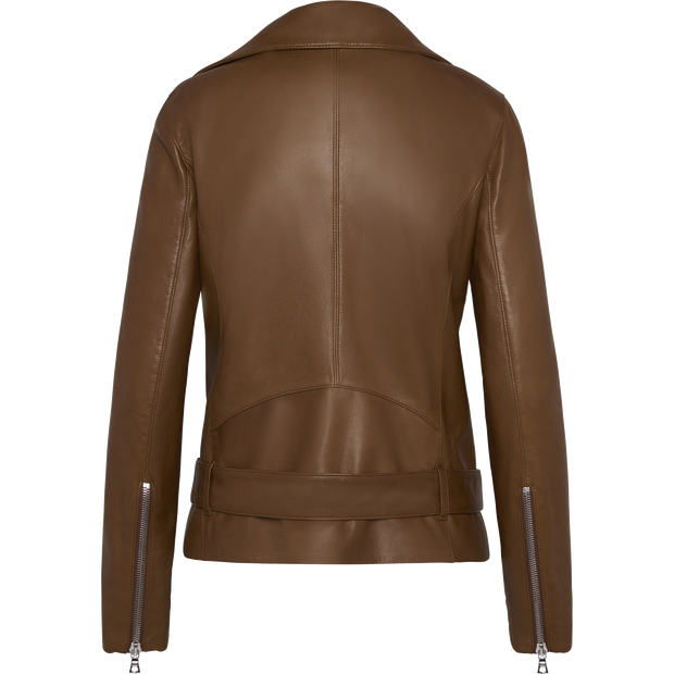 Luna Moto Jacket-Jackets-W by Worth-Midnight-00-Worth Collection