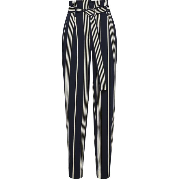 Black Stripes 00 Newport Pant Pants W by Worth Worth Collection