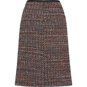 W by Worth Martha Skirt ${description} $129.00 Available in: Color Navy Tweed Size 00