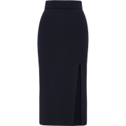 W by Worth Slit Skirt ${description} $149.00 Available in: Color Navy Size XS