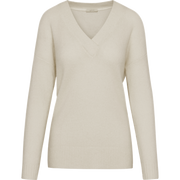 Ivory XS Mohair V Neck Pullover Sweaters W by Worth Worth Collection