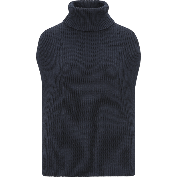 W by Worth Cap Sleeve Turtleneck Pullover ${description} $179.00 Available in: Color Navy Size XS
