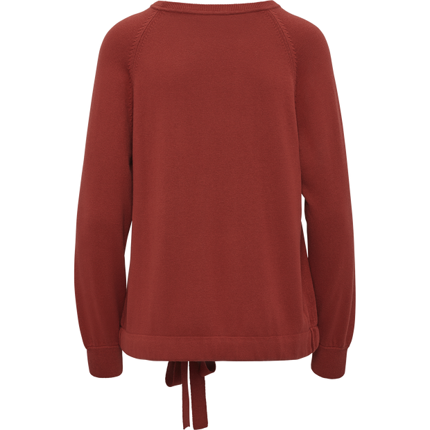 W by Worth Tie Hem Pullover ${description} $149.00 Available in: Color Deep Rust Size XS