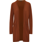 Walking Cardigan-Sweaters-W by Worth-Rust-XS-Worth Collection